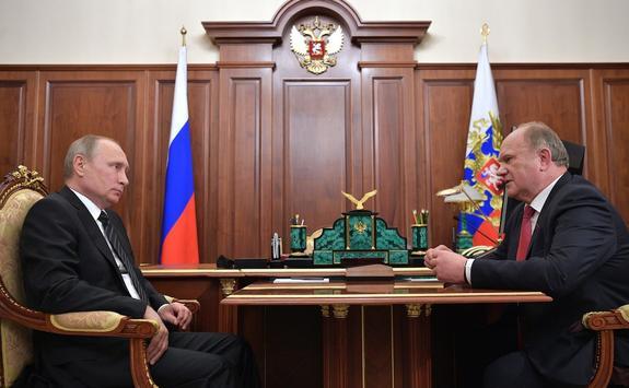 О новом списке преемников Г. Зюганова