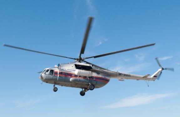 Пострадавшего в ДТП в Новой Москве эвакуировали на санитарном  вертолёте