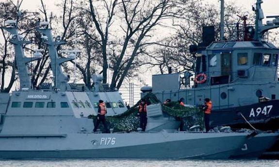 Россия направила Украине ноту по вопросу освобождения задержанных моряков