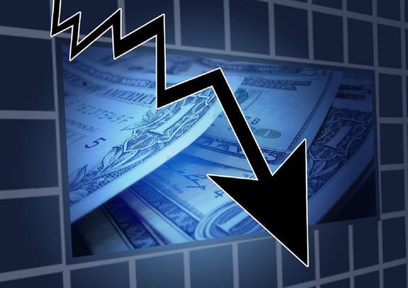 Курсы доллара и евро снова пошли вниз