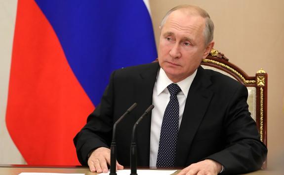 Путин снял с должности губернатора Севастополя