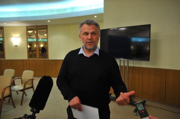 Алексей Чалый: Никаких инициатив в отношениях с исполнительной властью проявлять не буду