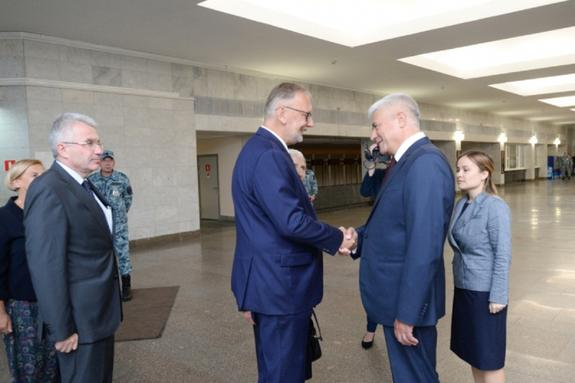Встреча Владимира Колокольцева и Давора Божиновича состоялась в столице