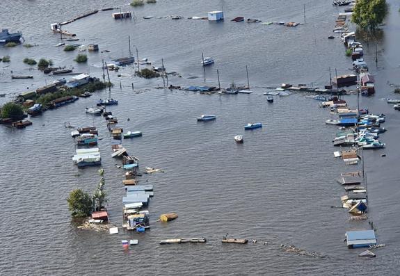 Комсомольск-на-Амуре: река идёт на рекордный  максимальный уровень воды