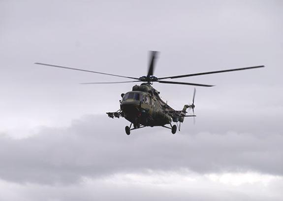 Вертолет Ми-8 совершил жесткую посадку под Саратовым
