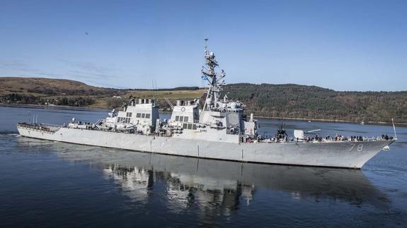 В акваторию Черного моря вошел американский эсминец