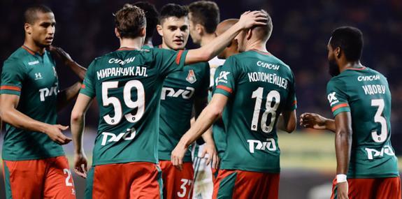 «Ахмат» терпит поражение от «Локомотива»