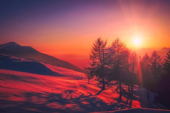 Синоптики предполагают, что зима в России будет сравнительно теплой