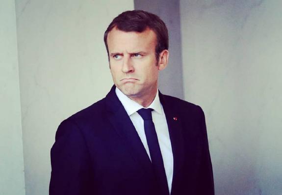 МИД Украины вызвал посла Франции из-за Макрона