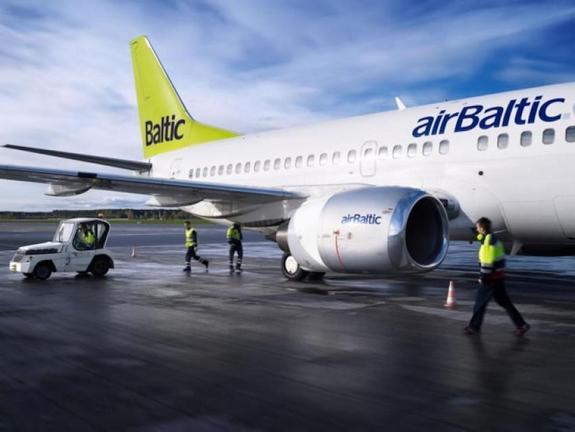Самолет компании airBaltic не вылетел из Москвы