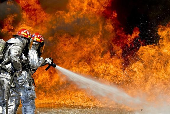 В Уфе две женщины  погибли при пожаре в жилом доме