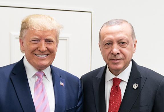 В Белом доме начались переговоры Трампа и Эрдогана