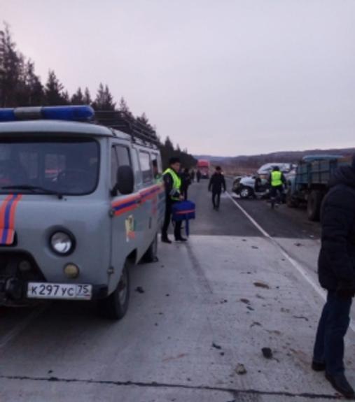 Серьезное ДТП произошло в Агинском районе Забайкалья, погибли 7 человек