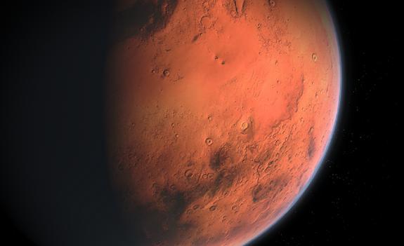 Специалисты NASA обнаружили на Марсе повышенный уровень кислорода