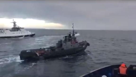 Россия передала Украине задержанные корабли