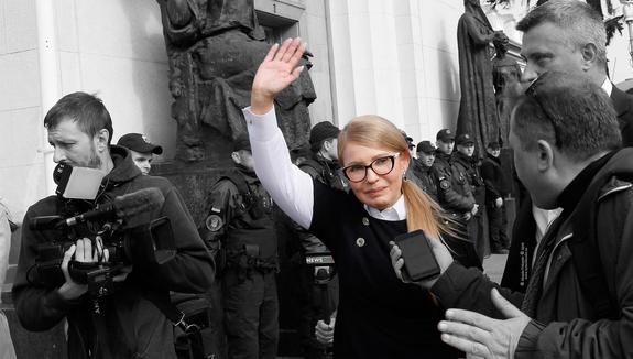 Тимошенко пригласила Зеленского на «корпоратив»