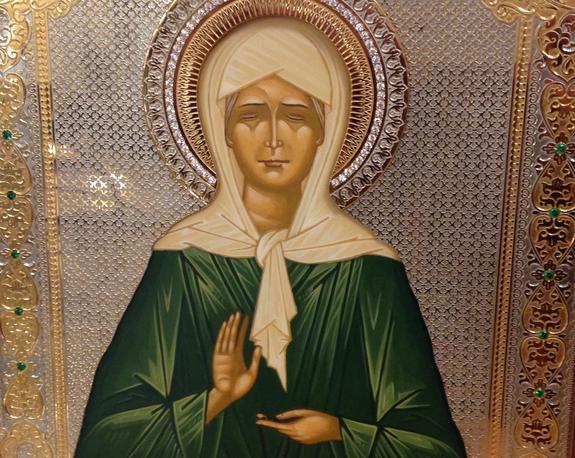 Православная Латвия почтила память блаженной Матроны Московской
