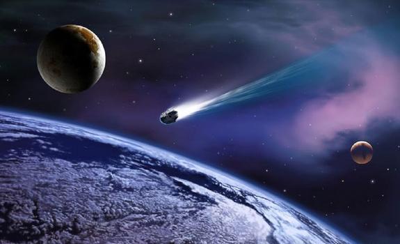 Роскосмос обнаружил опасный астероид, сближающийся с Землей