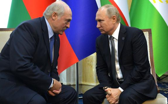 В Кремле сообщили, что Путин и Лукашенко встретятся в Сочи 7 декабря