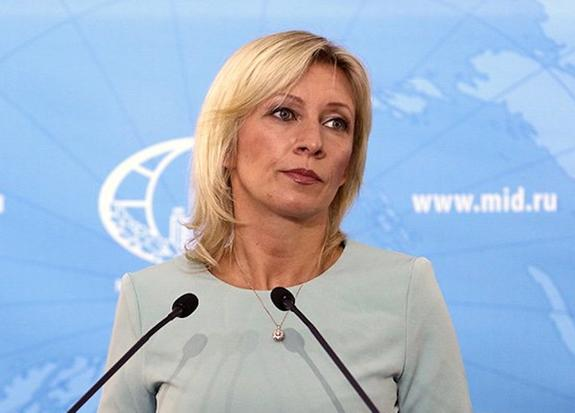 Захарова резко отреагировала на слова Зеленского о