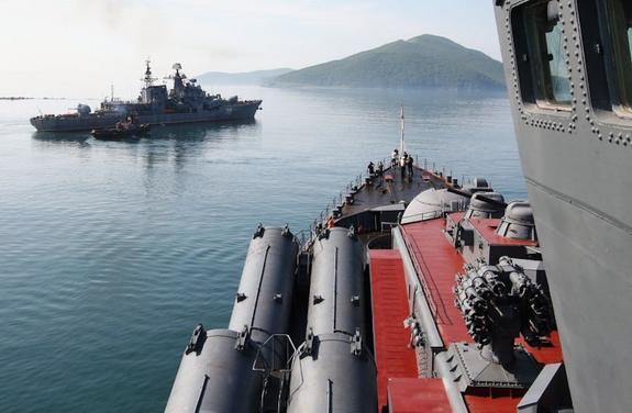 Российские моряки отправляются «мыть сапоги» в Индийском океане
