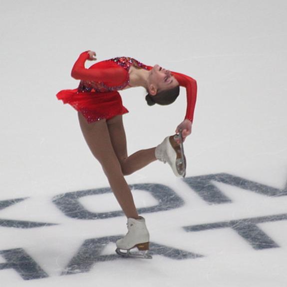Алена Косторная установила мировой рекорд в короткой программе  в финале Гран-при в Турине
