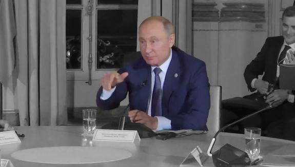 Заявления Путина в Париже
