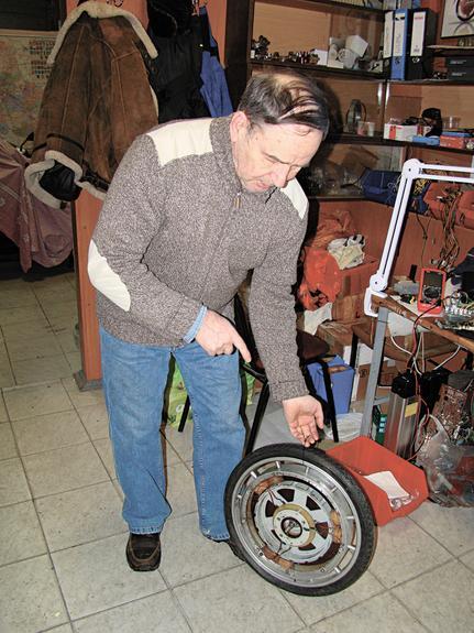 Мотор-колёса Шкондина как генератор прогресса