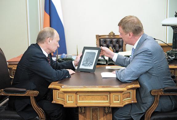Зачем Путин терпит Чубайса?