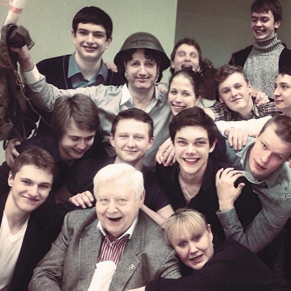 Первые «птенцы» Олега Табакова