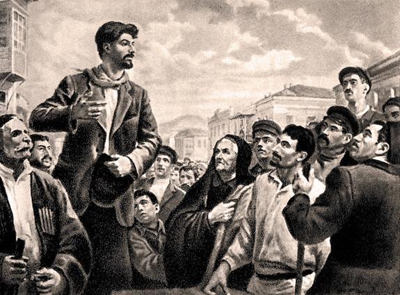 Сталин, Булгаков, «Батум»