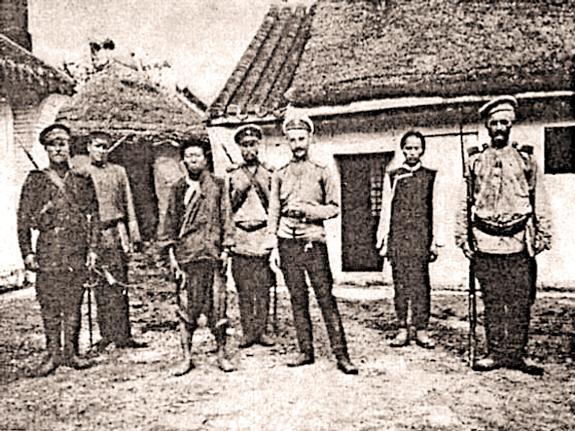 Штабс-капитаны Рыбниковы