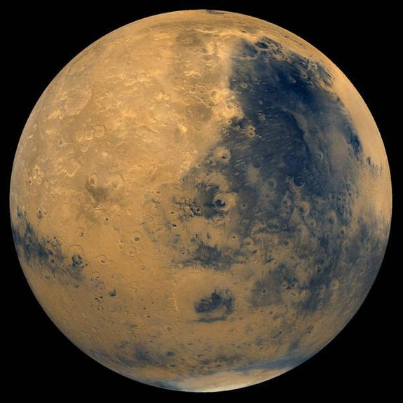 На Марсе всё-таки будут цвести яблони