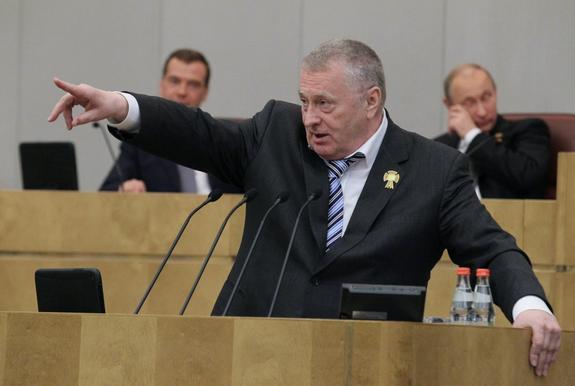 Жириновский назвал Вишневского дурачком. Вишневского это не волнует