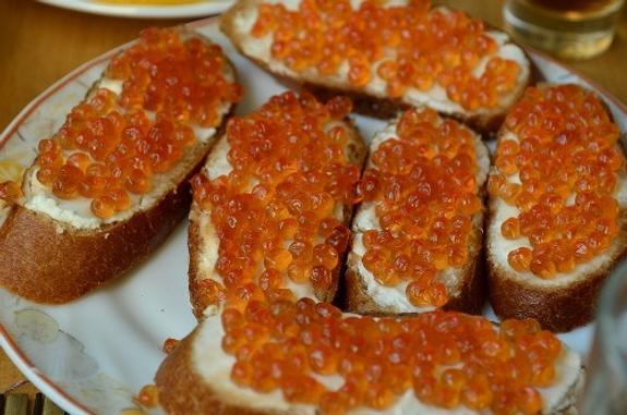 На Камчатке икру едят только по праздникам