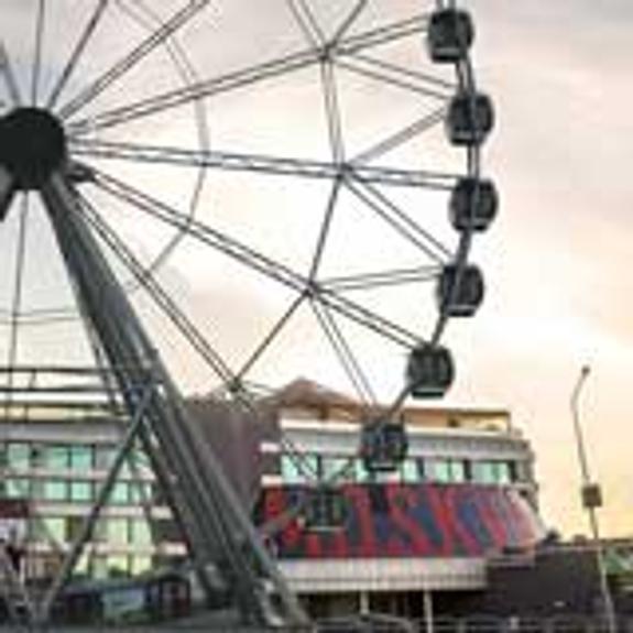 В Челябинске в пятницу, 13, открыли чертово колесо