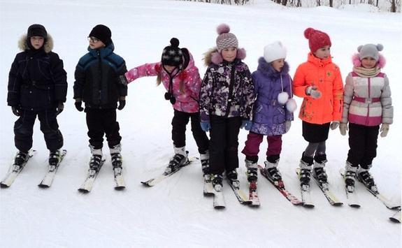 «Взрослые» лыжи