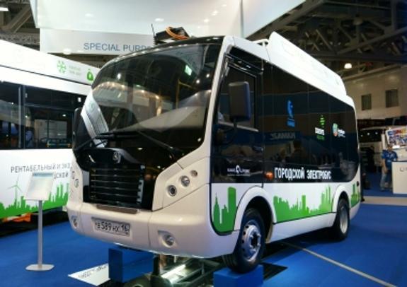 В Москве пассажирские автобусы заменят электромобилями