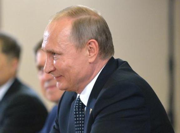 Владимир Путин пошутил по поводу выхода США из Парижского соглашения по климату