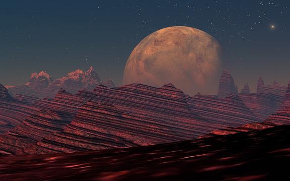 На Марсе нашли гигантскую дыру