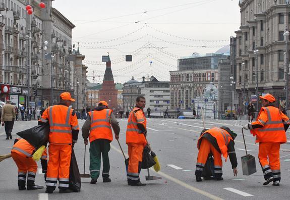 Собянин пообещал, что благоустройство центральных улиц Москвы скоро завершат