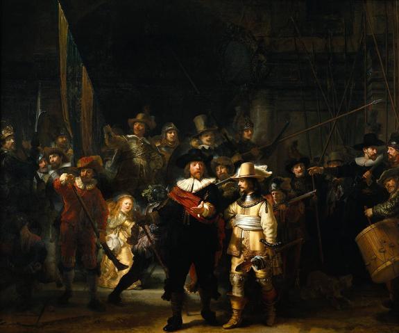 Учителю разрешили переночевать перед полотном Рембрандта в музее Амстердама