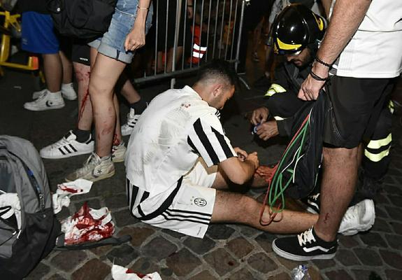 Причиной массовой давки в Турине во время матча стал розыгрыш подростков