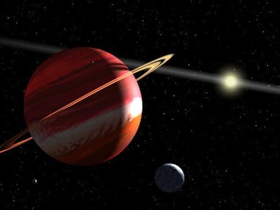 Космический спутник снял ураганы на Юпитере (ВИДЕО)