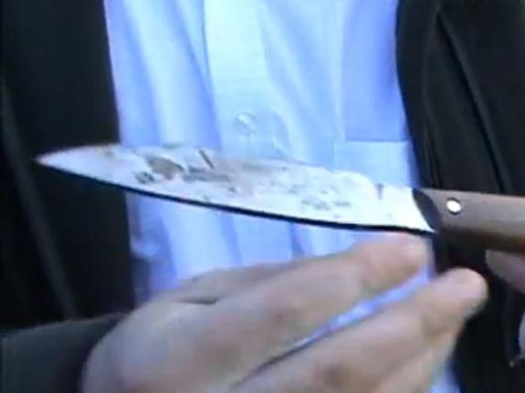Нож в спину от бывшей