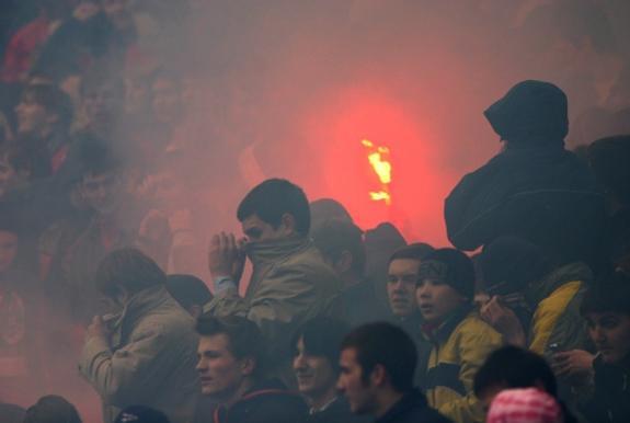 МВД РФ составило черный список футбольных болельщиков