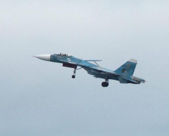Российский истребитель перехватил над Балтикой бомбардировщик США