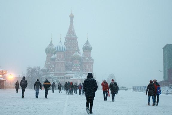 Синоптики: в субботу Москва окажется в плену арктического холода