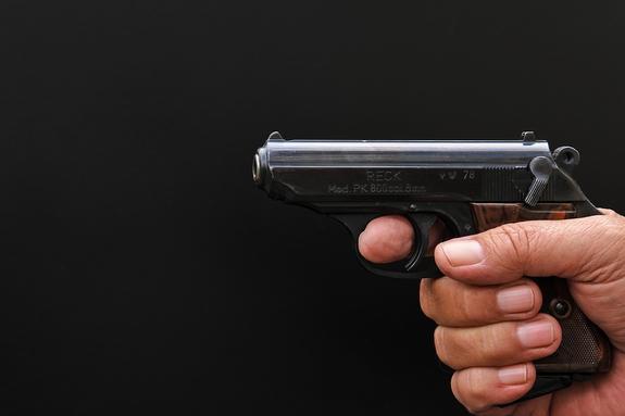 Человека расстреляли на одной из улиц Санкт-Петербурга