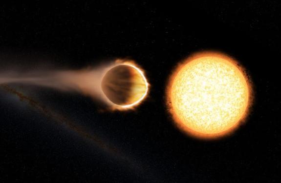"""Астрономы нашли """"адскую"""" планету, на которой может плавиться даже железо"""